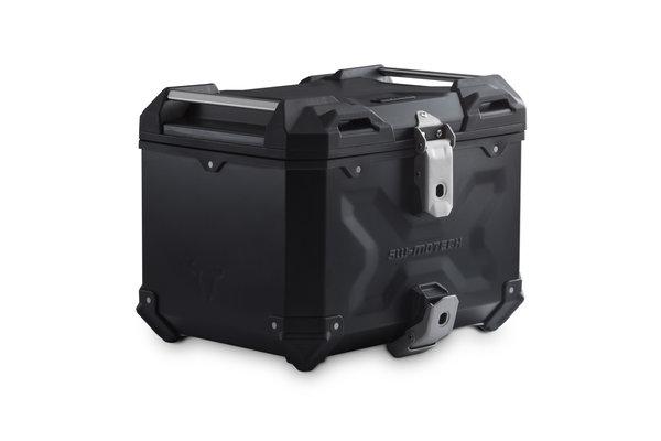 TRAX ADV top case Aluminum. 38 l. Black.