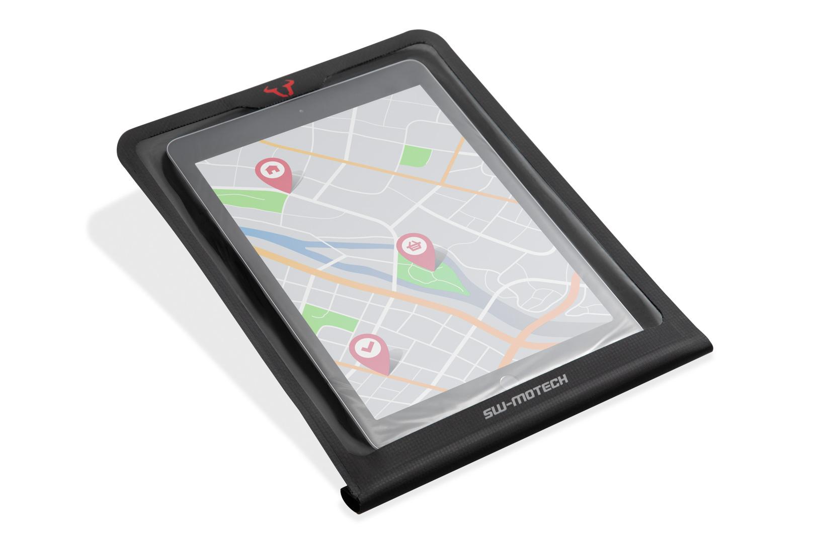 Smartphone Drybag for MOLLE system Black.
