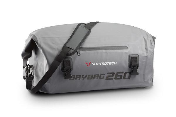 Drybag 260 tail bag 26 l. Grey/black. Waterproof.