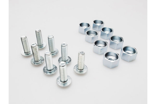 Screw set for EVO carrier 8 pcs. QUICK-LOCK replacement.