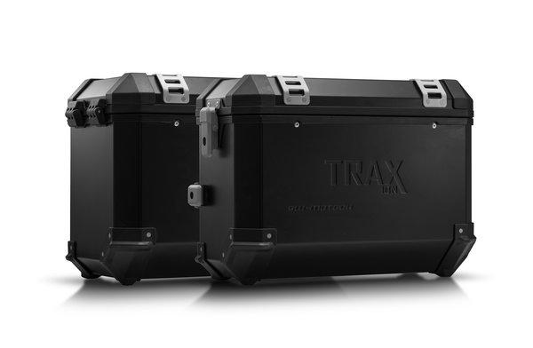 TRAX ION aluminium case system Black. 37/45 l. BMW F 800 / 700 / 650 GS (08-).