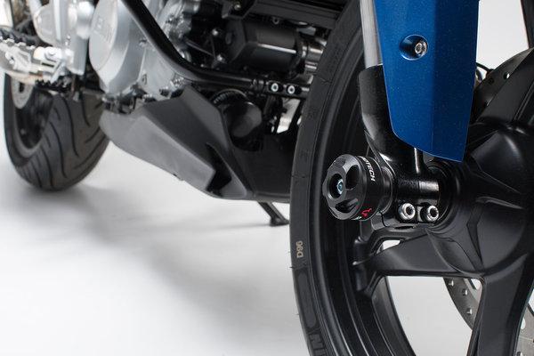 Slider set for front axle Black. BMW G 310 R (16-20), G 310 GS (17-20).