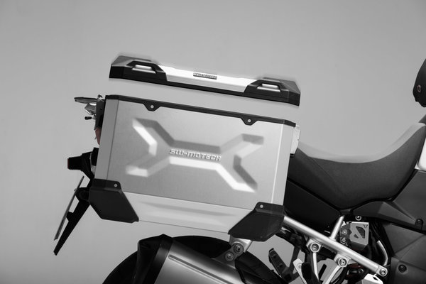 TRAX ADV L Side case. Aluminum. 45 l. Right. Black.