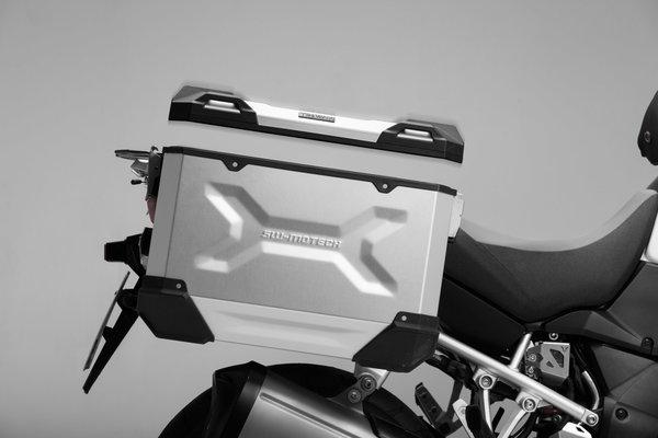 TRAX ADV M Side case. Aluminum. 37 l. Left. Black.