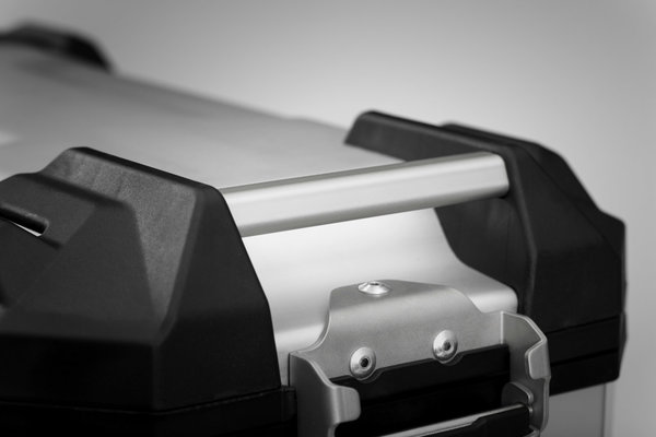 TRAX ADV M Side case. Aluminum. 37 l. Right. Black.