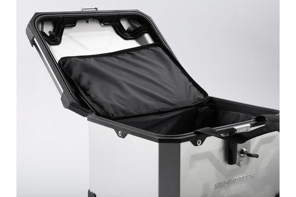 TRAX ADV top case Aluminum. 38 l. Silver.