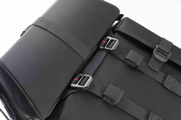 SysBag 15/15/15 system Black/Anthracite. Incl. lashing straps.