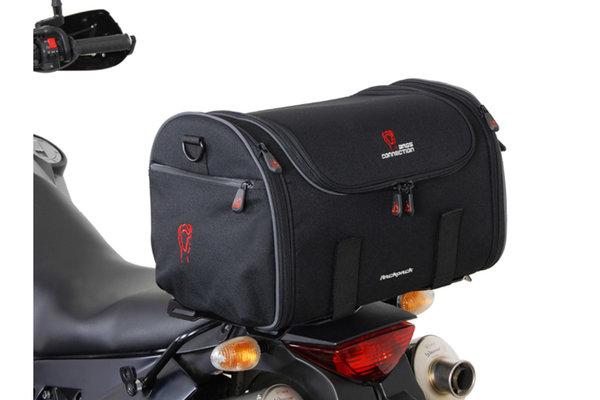 Luggage rack extension for ALU-RACK 43x27 cm. Aluminum. QUICK-LOCK. Black.