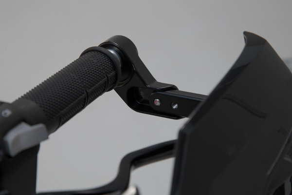 Handguard Mounting Kit Black. For hollow bars. 22mm (7/8 Inch) to 1 Inch.