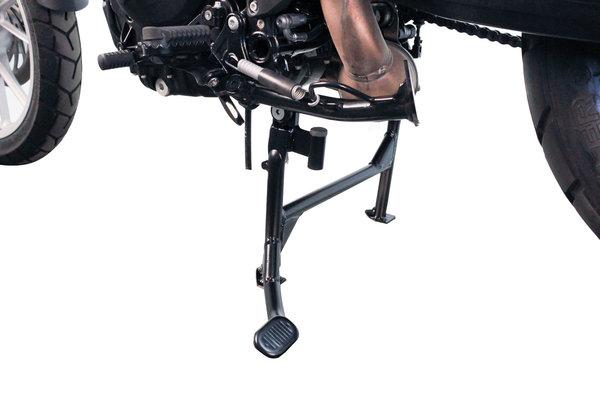 Béquille centrale Noir. BMW F650/700GS Kit de rabaissement.