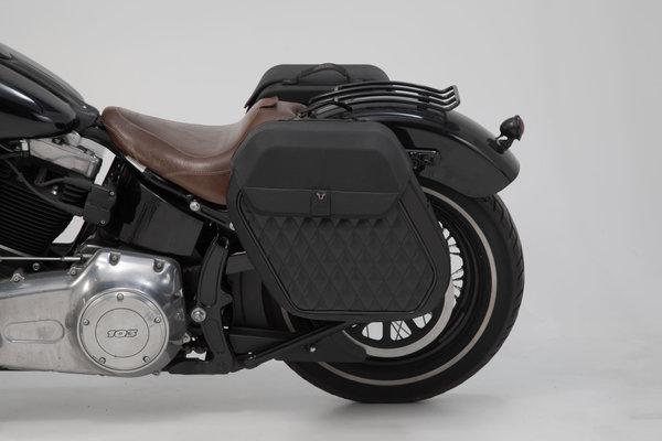 SLH side carrier left Harley-Davidson Softail Slim (12-17).
