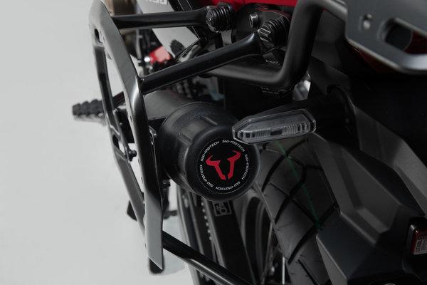 Caja de herramientas para soporte lateral Negro. Para soporte de maletas QUICK-LOCK.