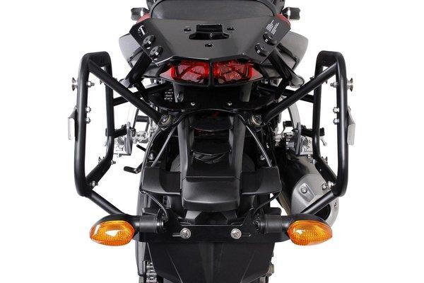 EVO side carriers Black. Yamaha FZ 1 / Fazer (05-16).