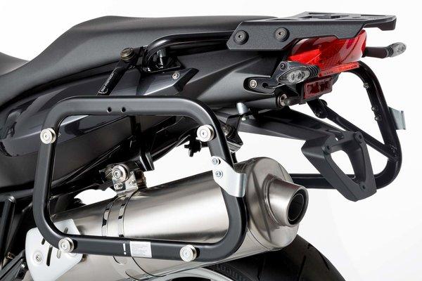 Soportes laterales EVO Negro. BMW F 800 R (09-) / F 800 GT (12-).