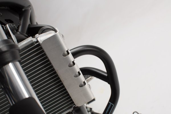Radiator guard Silver. Suzuki SV650 ABS (15-).