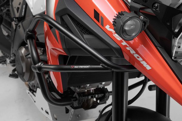 Upper crash bar Black. Suzuki V-Strom 1050 (19-).