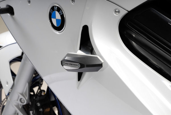 Frame slider kit Black. BMW F 800 ST (06-12).