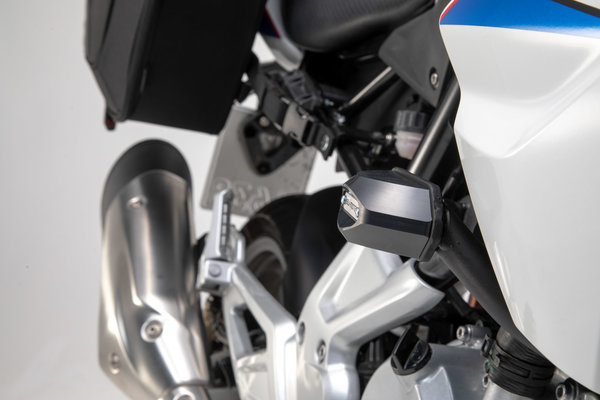 Kit de topes anticaidas Negro. BMW G 310 R (16-20).