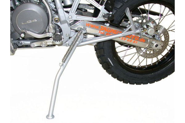 Side stand Silver. For mounting to centerstand.