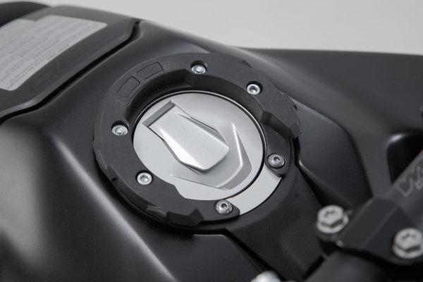 EVO tank ring Black. KTM 990 SD/ 390, 790 Adv. 6 screws.